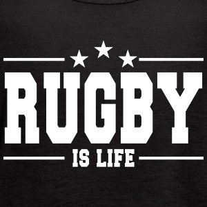 rugby is life 1 Tanks - Women's Flowy Tank Top by Bella