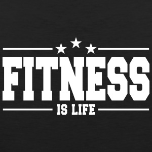 fitness is life 1 Sportswear - Men's Premium Tank