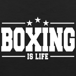 boxing is life 1 Sportswear - Men's Premium Tank