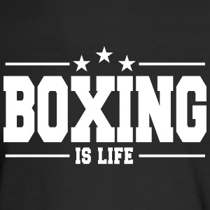 boxing is life 1 Long Sleeve Shirts - Men's Long Sleeve T-Shirt