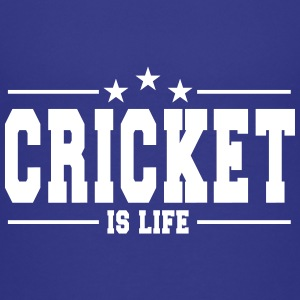 cricket is life 1 Kids' Shirts - Kids' Premium T-Shirt