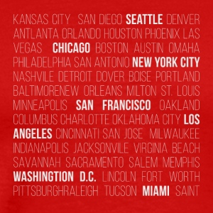 USA CITIES - Men's Premium T-Shirt