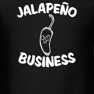 Jalapeno Business - Men's T-Shirt