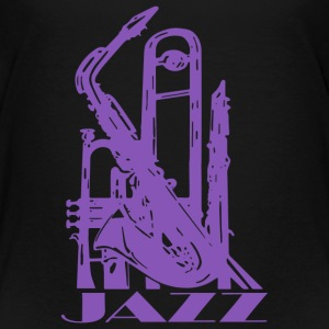 Jazz Music Art - Toddler Premium T-Shirt