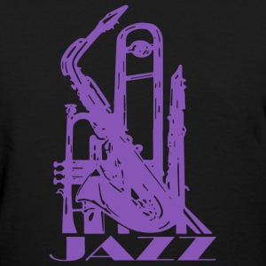 Jazz Music Art - Women's T-Shirt