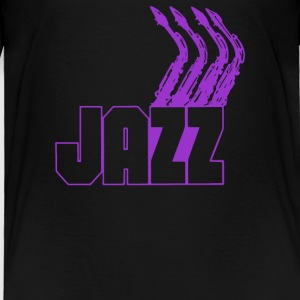 JAZZ SAXOPHONE - Toddler Premium T-Shirt