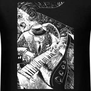 Jazz Piano - Men's T-Shirt