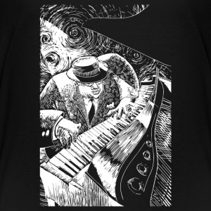 Jazz Piano - Toddler Premium T-Shirt