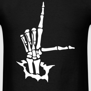L sign - Men's T-Shirt