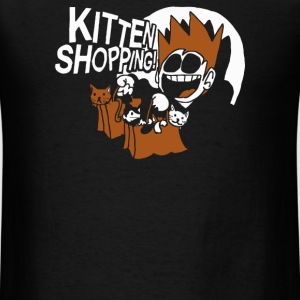 Kitten Shopping - Men's T-Shirt