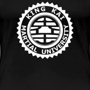 King kai university DBZ - Women's Premium T-Shirt