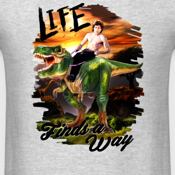 Life Finds A Way - Men's T-Shirt