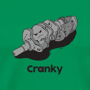 Cranky engine - Men's Premium T-Shirt