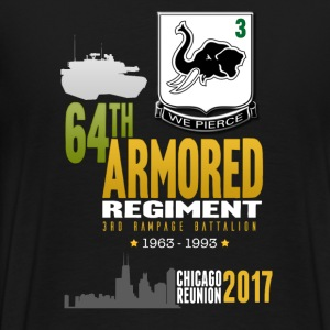 3/64 2017 Reunion Shirt - Men's Premium T-Shirt