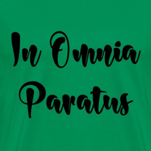 In Omnia Paratus - Men's Premium T-Shirt