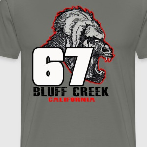 Legend of 67 Bluff Creek, CA - Men's Premium T-Shirt