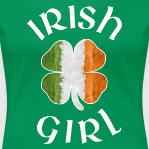 IRISH GIRL T-Shirts - Women's Premium T-Shirt