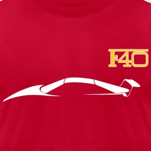 F40 T-Shirts - Men's T-Shirt by American Apparel