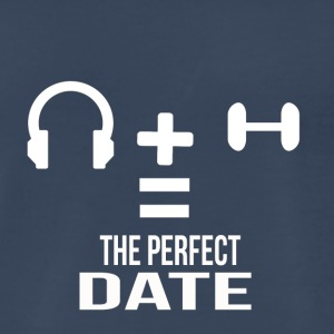 the perfect date - Men's Premium T-Shirt