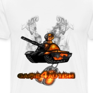 Game4Autism BattleField - Men's Premium T-Shirt