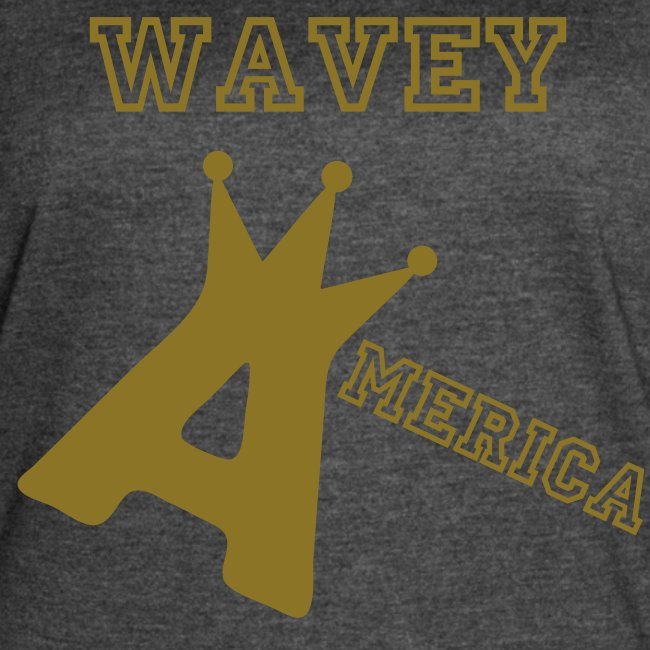 Wavey America Ladies Baseball Tee