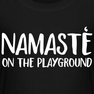 namaste on the playground Kids' Shirts - Kids' Premium T-Shirt