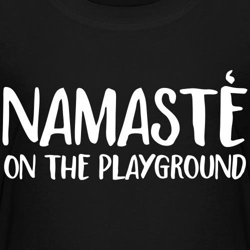 namaste on the playground
