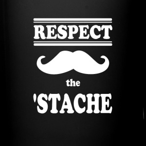 Respect the Mustache - Full Color Mug