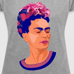 Frida-Colors T-Shirts - Women´s Roll Cuff T-Shirt