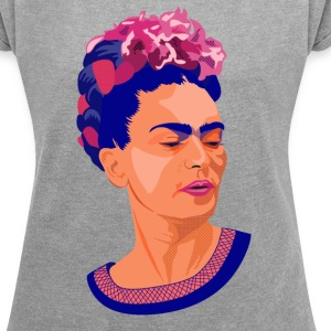 Frida-Colors T-Shirts - Women´s Rolled Sleeve Boxy T-Shirt