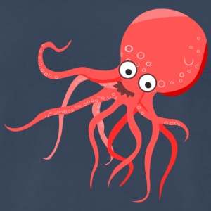 Cute Octopus - Men's Premium T-Shirt