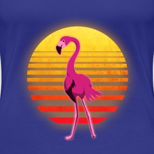 Neon Flamingo - Women's Premium T-Shirt