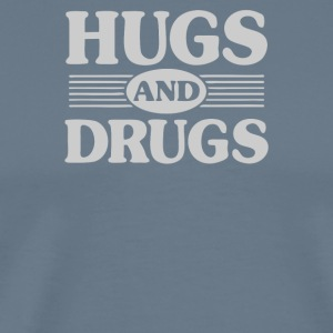 Hugs and Drugs - Men's Premium T-Shirt