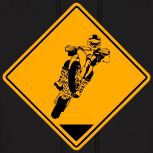 Supermoto Road Sign Hoodies - Men's Hoodie