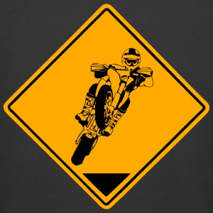 Supermoto Road Sign T-Shirts - Men's 50/50 T-Shirt