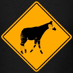 Okapi Road Sign T-Shirts - Men's T-Shirt