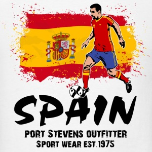 Spain Soccer T-Shirts - Men's T-Shirt