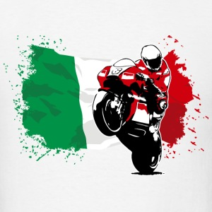 MotoGP - Superbike - Italy Flag T-Shirts - Men's T-Shirt