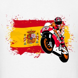 MotoGP - Superbike - Spain Flag T-Shirts - Men's T-Shirt