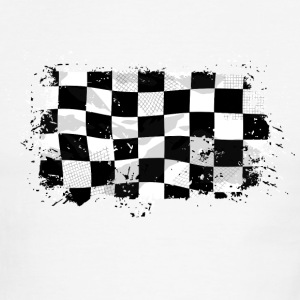 Racing Flag T-Shirts - Men's Ringer T-Shirt