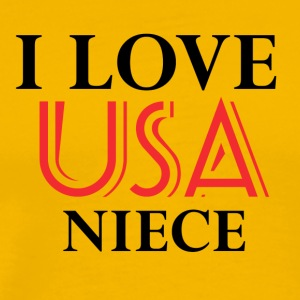 usa niece design - Men's Premium T-Shirt