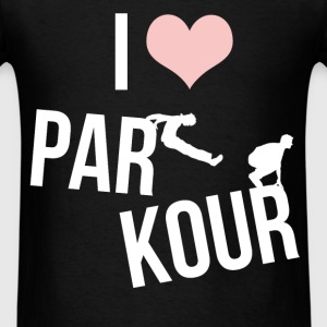 Parkour - I love Parkour - Men's T-Shirt