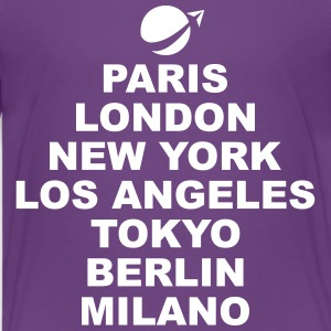 Paris London NewYork.. Kids' Shirts - Kids' Premium T-Shirt