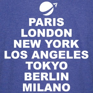 Paris London NewYork.. T-Shirts - Vintage Sport T-Shirt