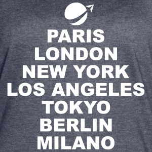 Paris London NewYork.. T-Shirts - Women's Vintage Sport T-Shirt