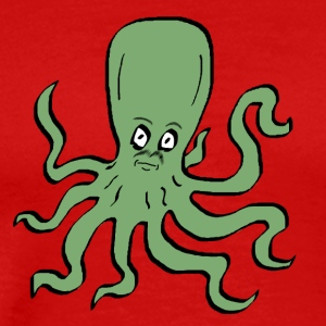 Octopus Green - Men's Premium T-Shirt