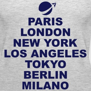 Paris London NewYork.. Tanks - Women's Premium Tank Top