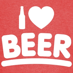 I ♥ BEER (1 Color) - Vintage Sport T-Shirt