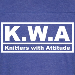 Knitters with Attitude (1 Color) - Vintage Sport T-Shirt