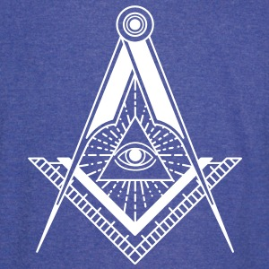 All Seeing Eye (Black) - Vintage Sport T-Shirt